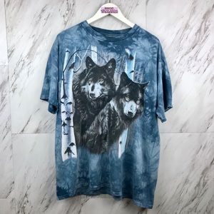 Vintage Wolves Acid Was T-Shirt